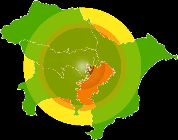 首都圏地図
